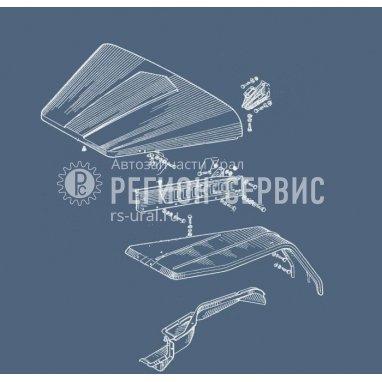 375ДЯ-8402305-Боковина капота левая фото
