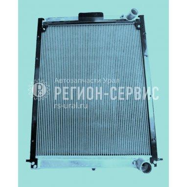 4320Б5-1301010-Радиатор водяной МЕДНЫЙ (Урал 4320/6-79/-4151-78 с двигателем 536.02-10) (CuproBraze) 3-х рядный фото