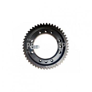 4320БУ-2402120-01-Шестерня ведомая цилиндрическая (48 зубьев, I = 6,77, 12 отверстий) фото