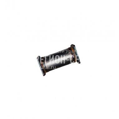 6563-1203099-Металлорукав с фланцами L=245-270 мм. фото