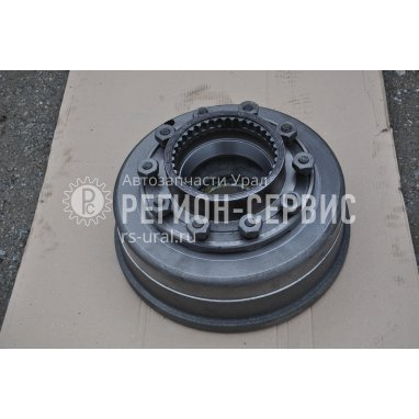 4320-3103002-11-Ступица колеса с тормозным барабаном, 2 подшипника в сборе фото